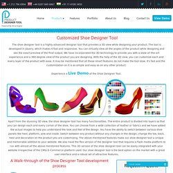 Custom Shoes Design Software, Online Shoe Designer Tool