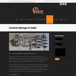 Meet The Best Custom Springs Suppliers Here