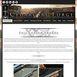 Custom Swords » Cedarlore Forge