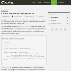Custom test slice with Spring Boot 1.4