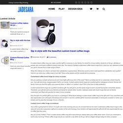 custom travel coffee mugs