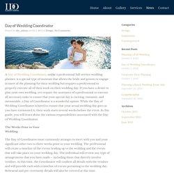 I DO, Custom Events Day of Wedding Coordinator - I DO, Custom Events