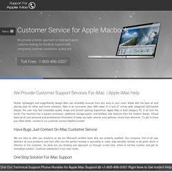 iMac – Apple Mac Customer Service 1-8004860307