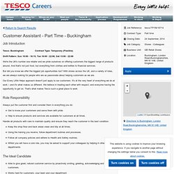 Part Time - Buckingham