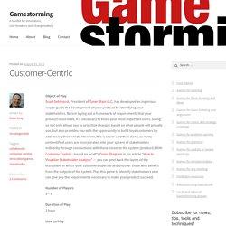 Customer-Centric – Gamestorming