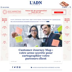 Customer journey map, un outil pour mieux connaître le parcours client