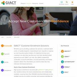 Customer Enrollment Solutions