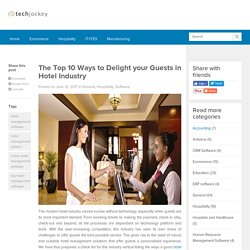 Ways to enhance customer experience with Hotel Management Software