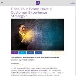 Does Your Brand Have a Customer Experience Strategy?