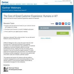 The Core of Great Customer Experience: Humans or AI?