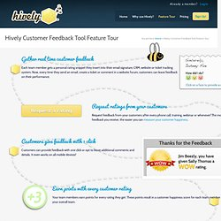 Hively Customer Feedback Surveys