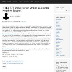 1-855-675-0083 Norton Online Customer Helpline Support
