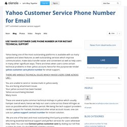 Use Yahoo Customer Care Phone Number UK For Instant Technical Support