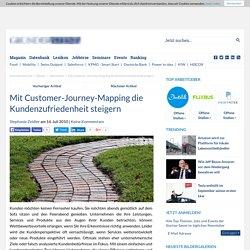 Mit Customer-Journey-Mapping die Kundenzufriedenheit steigern