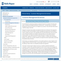 Customer Management & Services – Rolls-Royce