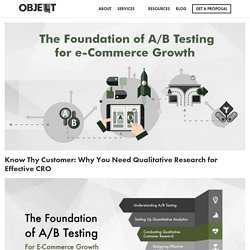 Know Thy Customer: Why You Need Qualitative Research for Effective CRO