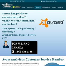 Avast Customer Service Number {1844-631-2188} Avast Antivirus Support