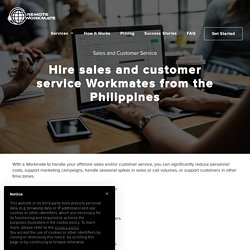 Sales and Customer Service Remote Assistants