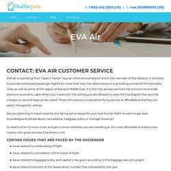 EVA-Air-Customer-Service 1-888-202-5328 Manage Booking Phone Number