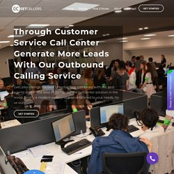 Great Outbound Call Center Pricing - GetCallers