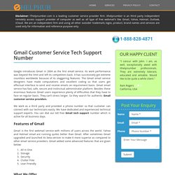 Gmail Customer Service Number, Tech Support Phone Number