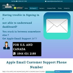 Apple Customer Service Number {1844-631-2188} Apple Email Tech Support