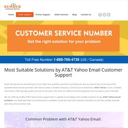 AT&T Yahoo Email Customer 1-888-766-4739 Service Support Number