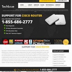 Cisco Router Customer Service 1-855-686-2777 Technical Support Phone Number