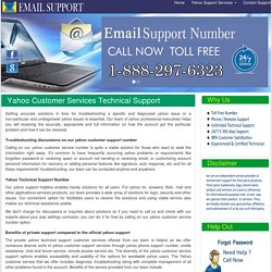 Yahoo customer service 1-888-297-6323 Technical support