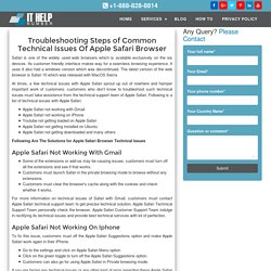 Apple Safari Customer Service 888-828-8814 Technical Support Number