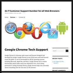 Google Chrome Customer Service & Technical Support Number 1-888-959-1458