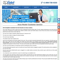 Asus Router Customer Service Phone Number