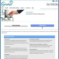 Prepaid Customer Care Services Provider