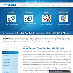 Yahoo Customer Support 1-855-777-5686 Contact Number