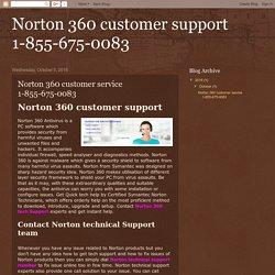Norton 360 customer support 1-855-675-0083: Norton 360 customer service 1-855-675-0083