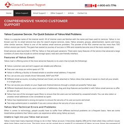 Yahoo Customer Support Service Number 1-800-615-7796