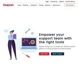 Customer Support Software for Your Service Center