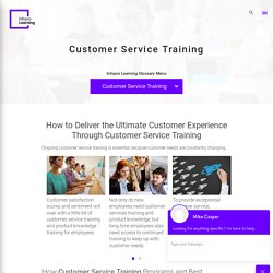 Why Do You Need Customer Service Training?
