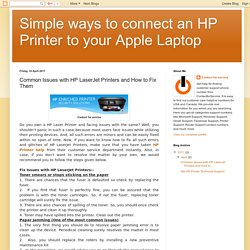 Get HP Printer Help and Technical Support