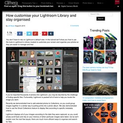 How customise your Lightroom Library and stay organised