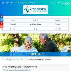 Customizable Care Plans for Seniors