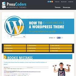 WordPress Theme Customization Guide & Tutorial
