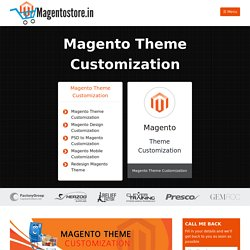 Magento Customization India