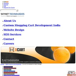 X-Cart Web Development for Business