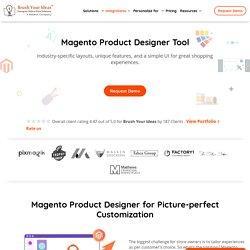 Magento Product Designer, Magento Web-to-Print Extension