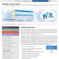 PhpBB Forum Design India