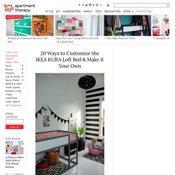 20 Ways to Customize the IKEA KURA Loft Bed & Make It Your Own